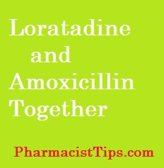 loratadine-and-amoxicillin