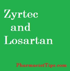 zyrtec-and-losartan