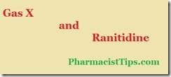gas x and ranitidine