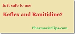 keflex and ranitidine
