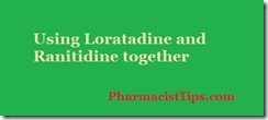 loratadine and ranitidine together