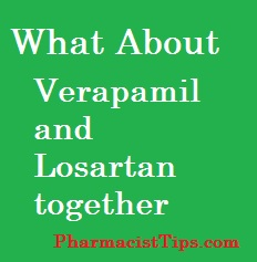 can you take fioricet with verapamil